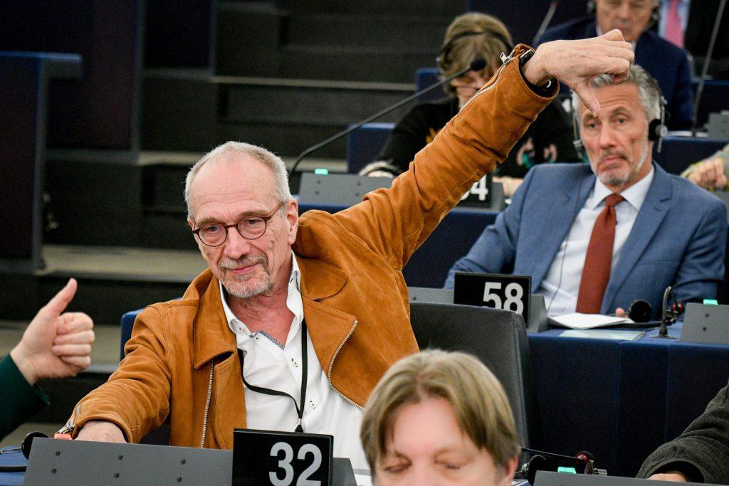 Nils Torvalds - Plenum Europaparlamentet